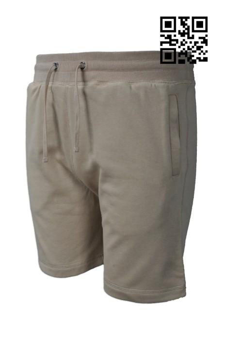 U292 訂購運動中褲  設計淨色運動短褲  大量訂造短褲  美國 短褲供應商