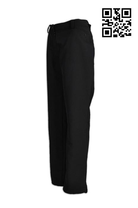 H201訂製舒適斜褲  定做時尚女士斜褲 褲腳內收索繩  製作斜褲  斜褲製造商