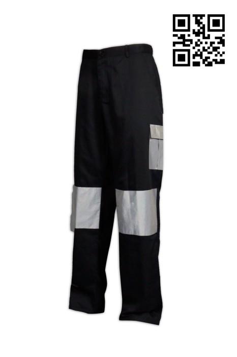 H203個人設計反光斜褲 供應個性斜褲 工程 度身訂造斜褲 斜褲製衣廠