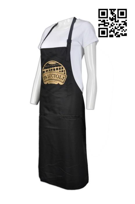 AP083 訂造個性圍裙款式   製作LOGO圍裙款式  意大利餐廳  自訂圍裙款式   圍裙生產商