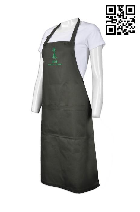 AP085 訂製度身圍裙款式    設計LOGO圍裙款式    製作餐飲圍裙款式   圍裙廠房