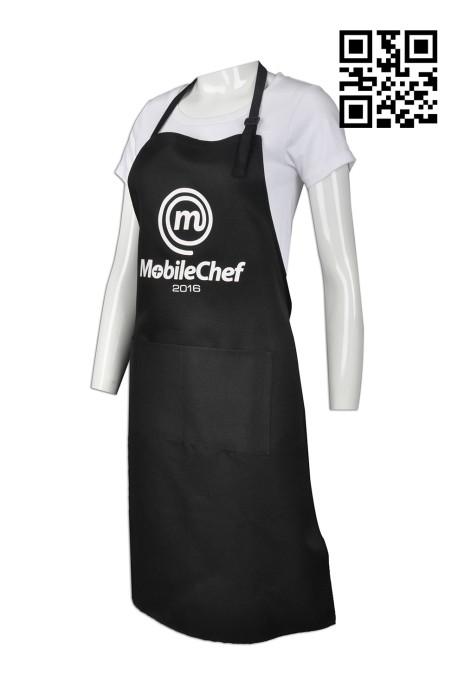 AP086 來樣訂造圍裙款式    自訂餐廳圍裙款式 廚師制服圍裙  製作圍裙款式   圍裙專營