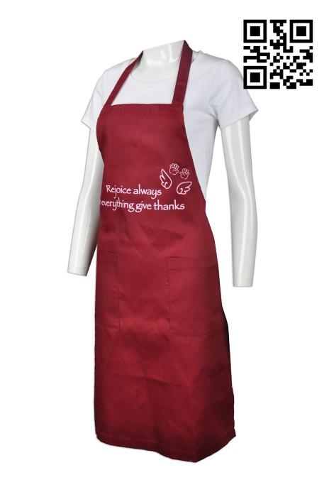 AP088  自製度身圍裙款式    訂造LOGO圍裙款式  全身圍裙  設計圍裙款式   圍裙工廠