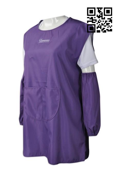 AP093  訂造兒童圍裙款式   製作LOGO圍裙款式  食品飲料分銷商 批發商  自訂圍裙款式    圍裙製衣廠