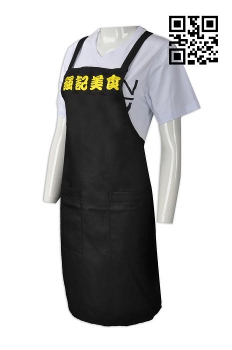 AP096 自訂餐飲圍裙款式   製作工作圍裙款式  美食 街頭小食 工作圍裙  訂造餐廳圍裙款式   圍裙專營