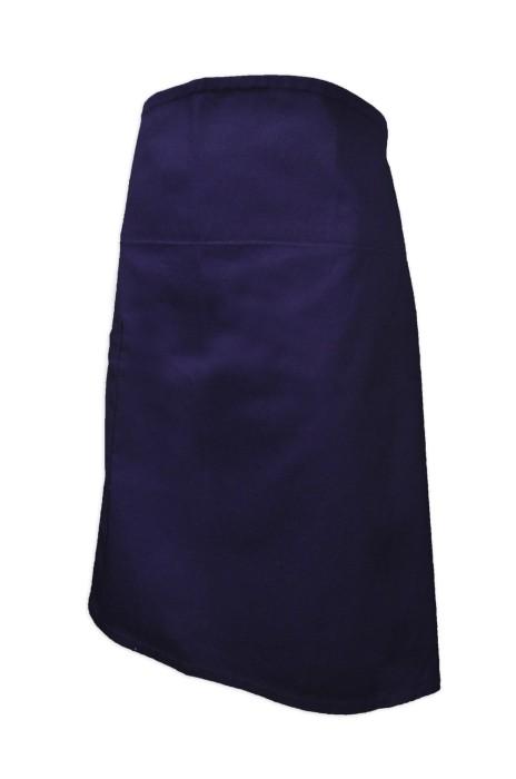AP100  製造拼色家政圍裙  訂購半身圍裙  健康食品 餐飲圍裙 淨色 純色圍裙 網上下單廚房圍裙 圍裙專門店