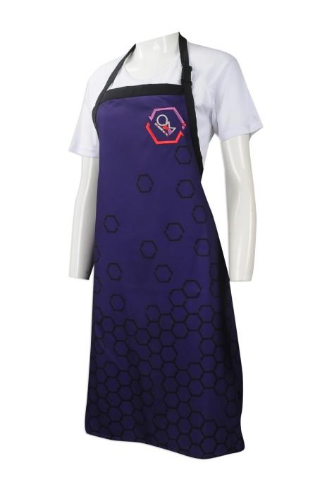 AP108 團體訂做員工圍裙 製作繡花LOGO圍裙 電視節目 真人SHOW 煮食節目 烹飪 服飾 設計圍裙款式供應商