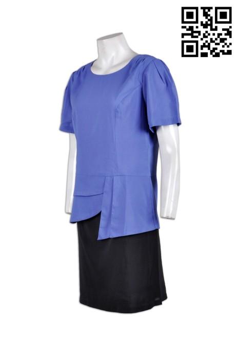 BWS062 來樣訂做西裝套裝  美容行業 醫學美容制服 制服 香港  西裝搭配  自製女裝西裝供應商HK
