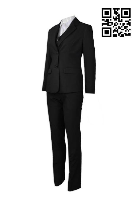 BWS072 訂造度身西裝款式    設計女款西裝款式 澳門審計署  製作女西裝款式   西裝製造商