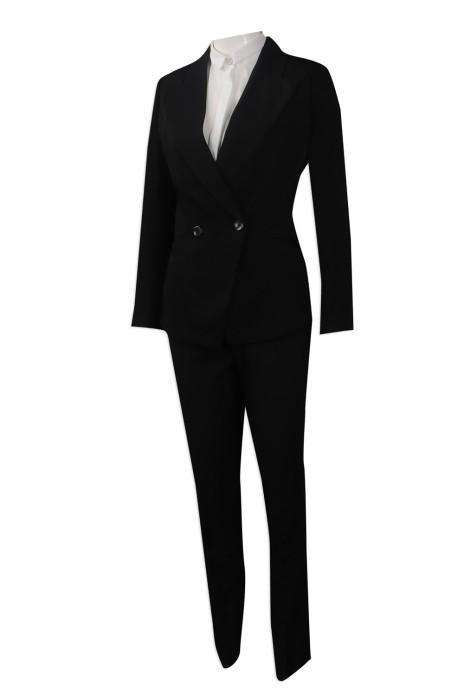 BWS089 網上下單女裝西裝 團體訂製修身版女裝西裝套裝  制服西裝專營店