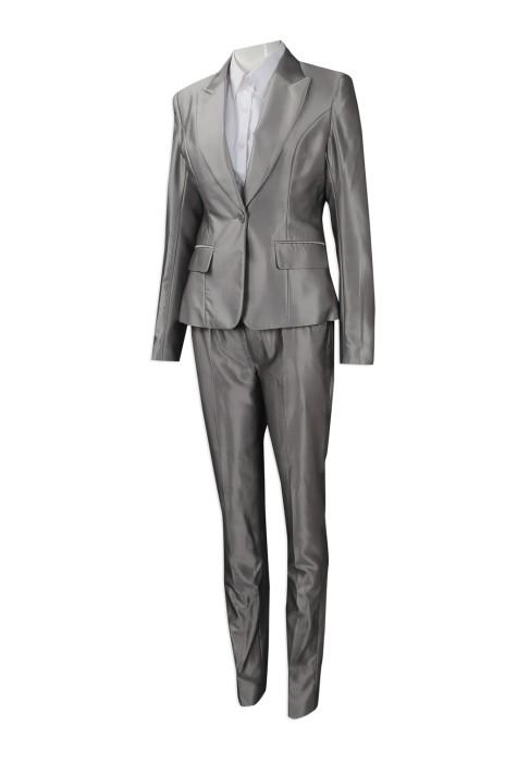 BWS085 團體訂購女裝西裝制服 來樣訂做修身版女裝西裝套裝 制服西裝製衣廠