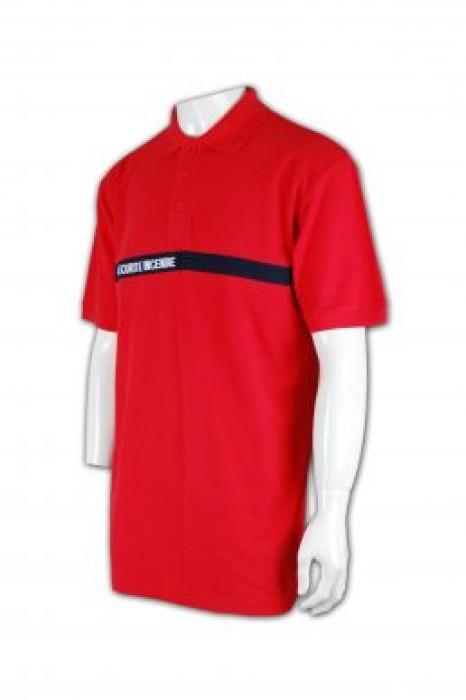 SE012 保安制服上衣訂做 Polo款式制服 保安制服布料選擇 保安制服香港製造