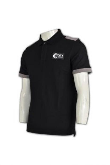 SE045 保安T恤制服 在線訂購 特警上衣制服 保安制服香港製造