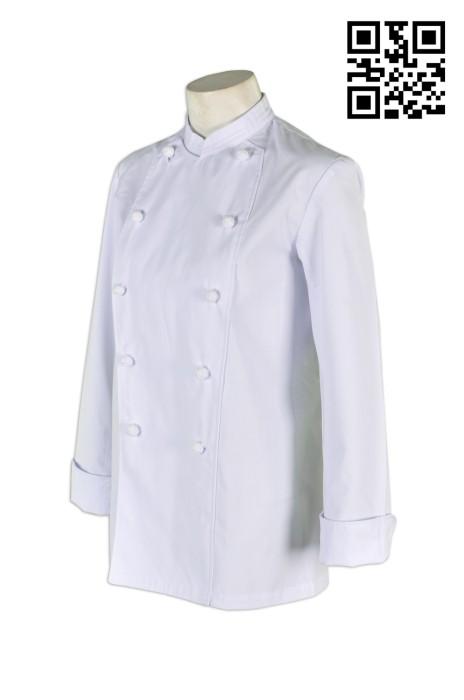KI074 廚師制服上衣 設計訂製 團體餐飲制服上衣 厨司  廚師制服選擇 餐飲廚師服生產商