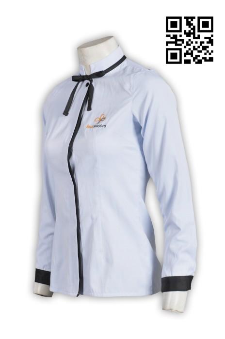 KI082個人設計廚師制服 來樣訂造廚師制服  接待侍應 女裝 廚師制服製造商