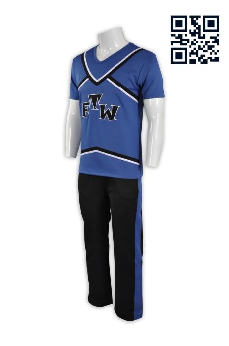 CH141來樣訂造啦啦隊服 大量訂造啦啦隊服  男裝 個人設計啦啦隊服 啦啦隊服中心