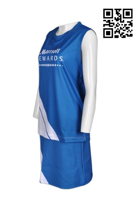 CH146  網上下單啦啦隊服  酒店行業 旅遊 度身訂造啦啦隊服  來樣訂造啦啦隊服  啦啦隊服製衣廠