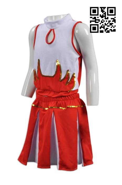 CH149訂做度身啦啦隊服   設計童裝啦啦隊服套裝款式    自訂啦啦隊服款式   拉拉隊服專門店