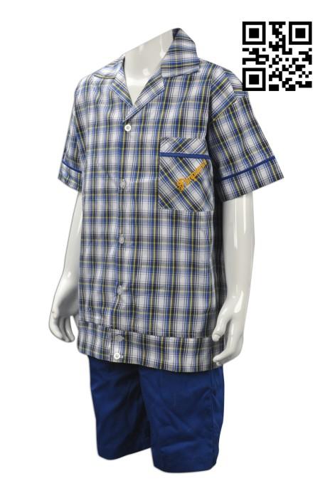 SU227  訂造小童校服  設計小學校服  格仔 澳洲 學校 校服 大量訂造小學校服  校服制服公司