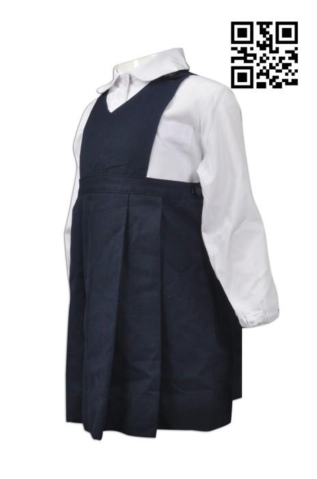 SU228 訂造小童校服裙裝 網上下單裙裝校服  度身訂造女童校服 校服供應商
