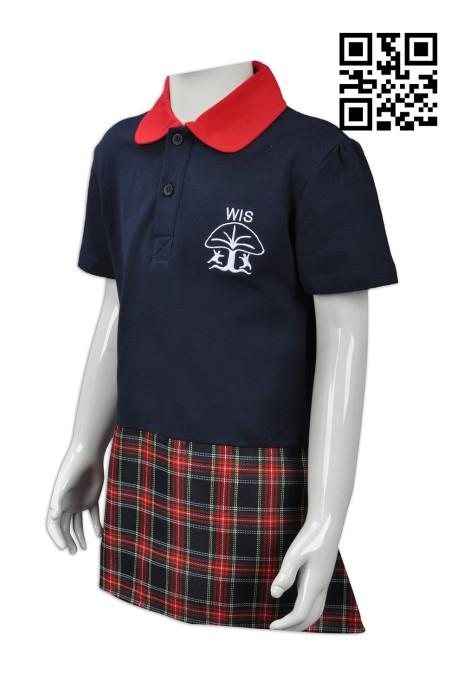 SU236 設計度身校服款式   製造幼兒園校服款式   日本幼兒園   自訂連衣裙校服款式   校服專營