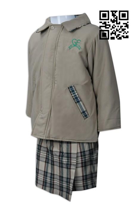 SU243 製造幼兒園校服款式    設計套裝校服款式  香港幼稚園 Greenfield 綠茵  自訂幼稚園校服款式   校服供應商