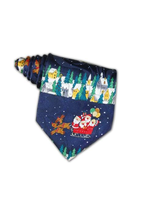 TI094 聖誕領呔 在線訂購 禮品領呔款式 領呔搭配 节日领呔公司