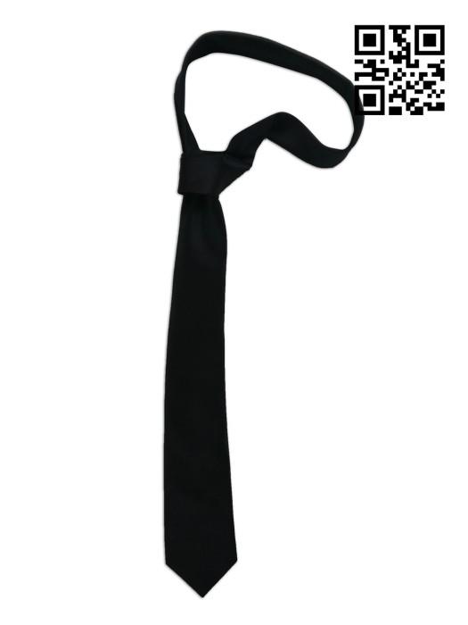 TI141 訂造純色領带 設計西裝領帶 保安 行政制服用 網上下單領帶 領帶hk中心