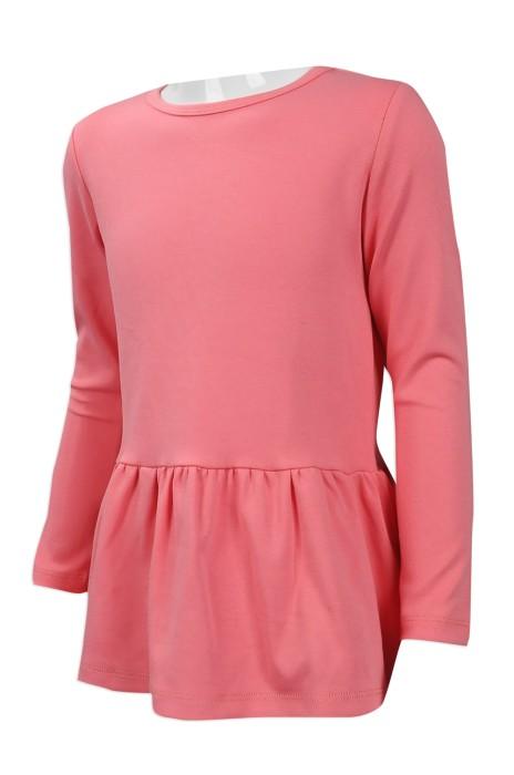 KD035 來樣訂做女童短裙 網上下單女童長袖短裙 95%棉花 5%氨綸 台灣 訂造女童短裙製造商
