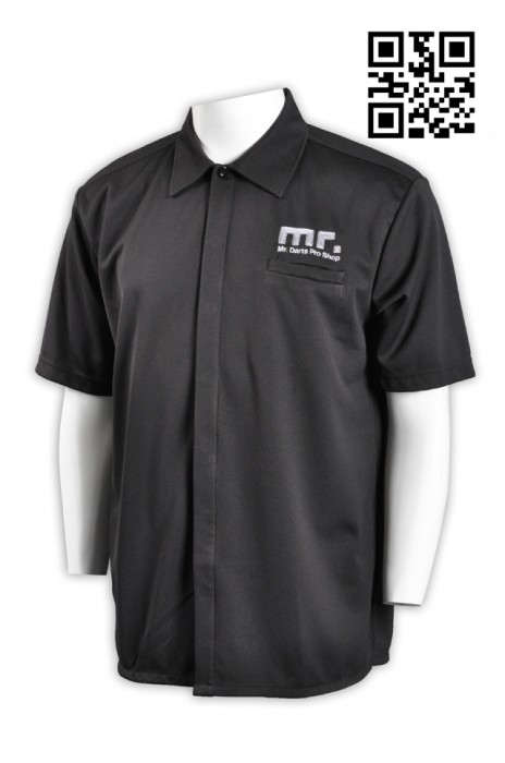 DS044淨色團體鏢隊衫  保齡球隊衫   碌ling運動制服 活動鏢隊衫 鏢隊衫訂做 鏢隊衫公司
