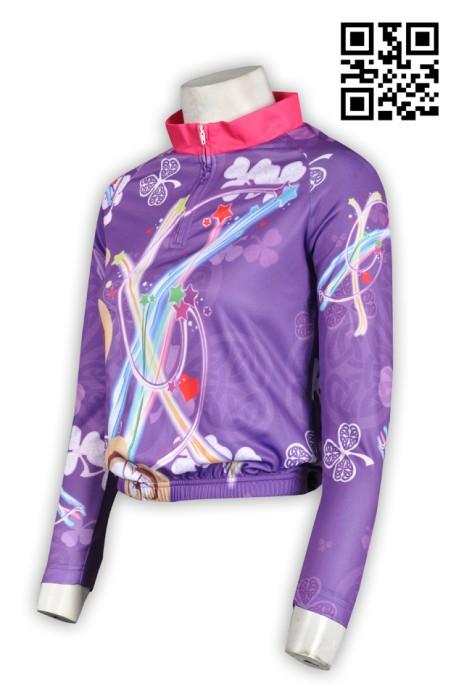 B122潮流個性女單車衫 個人設計單車衫 全件印 度身訂造單車衫 單車衫專門店