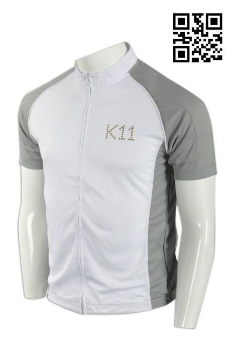 B124製造專業單車衫  訂購大碼單車衫 商場物業 管理公司 購物中心 物管制服 網上下單單車衫 單車衫制服店