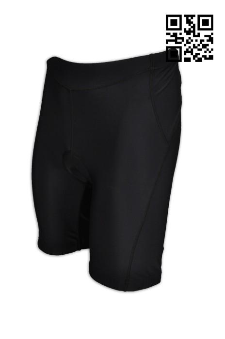 B127  訂造運動專用單車褲  大脾內側防滑帶 設計護墊單車褲  網上下單專業單車褲  單車褲製造商