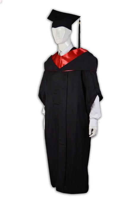 DA006 訂造大專學業袍  訂購畢業袍畢業制服  訂造大學校服樣式  畢業制服製造商