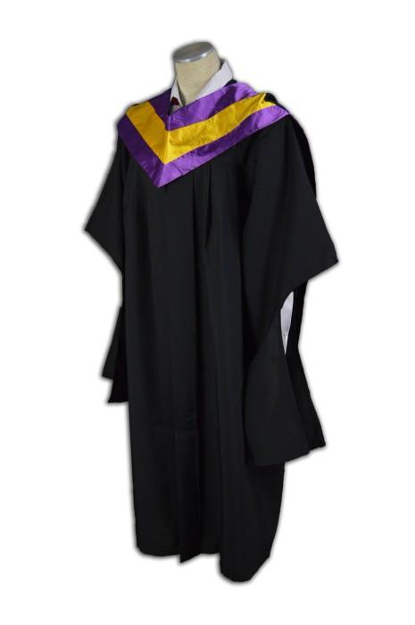 DA009 訂製團體學業制服袍  來版訂購學士服  訂做大學畢業袍 學士袍  學士服專門店