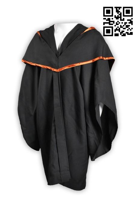 DA013大量訂造畢業袍 度身訂造畢業袍 網上下單畢業袍   畢業袍中心