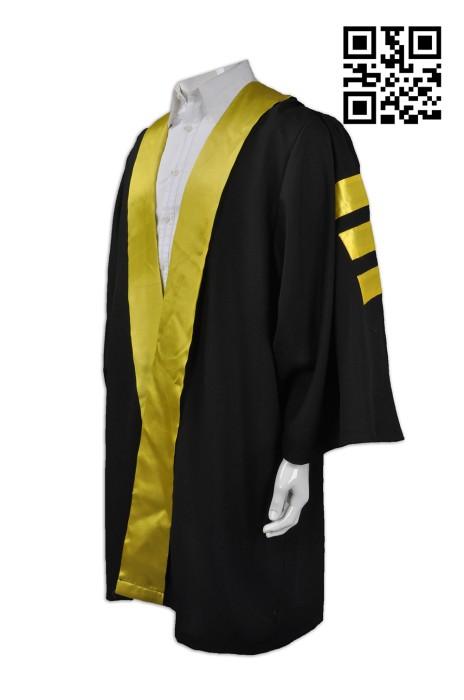 DA017  訂製成人畢業袍   訂做大學畢業袍  設計畢業袍  畢業袍生產商