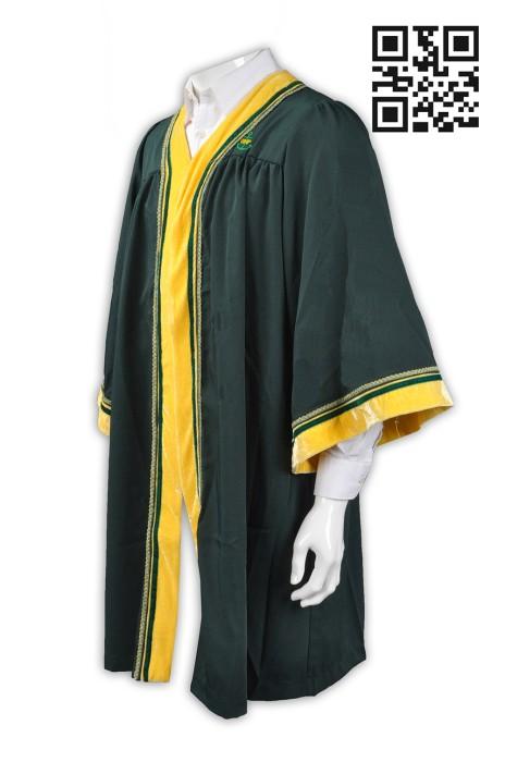DA021 訂購專業畢業袍  訂做畢業袍  博士袍 設計大學生畢業袍  畢業袍專營