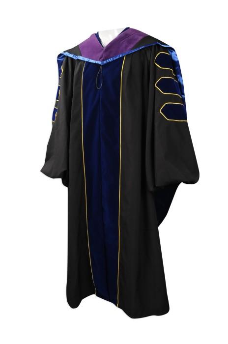 DA025 網上下單畢業袍 大量訂購畢業袍 自訂畢業袍批發商