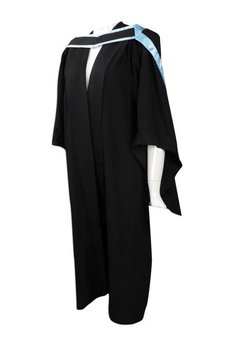 DA026 網上下單畢業袍 來樣訂做畢業袍 設計畢業袍製造商