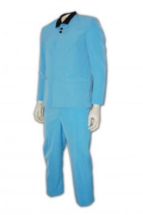CL001-3家政服訂做 家政服中心 清潔 保健 接待制服  工友制服 家政服製作