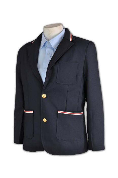 BS334 訂做西裝外套 拼接包邊西裝 度身訂製西裝 專業定做西裝