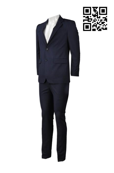 BS349 訂製度身男裝西裝款式    設計西裝款式  澳門審計署   自訂男西裝款式   西裝生產商