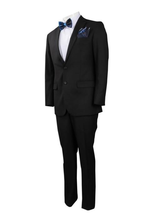 BS359 團體訂做西裝套裝   訂造手帕領結修身西裝  煲帶 袋巾 熱升華 美國  EI  Global  活動 party 西裝 西裝專營店