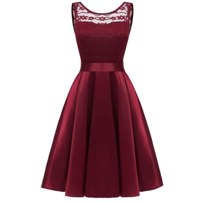 SKCS010 設計歐美式晚禮服款式   無袖  晚禮服製衣廠