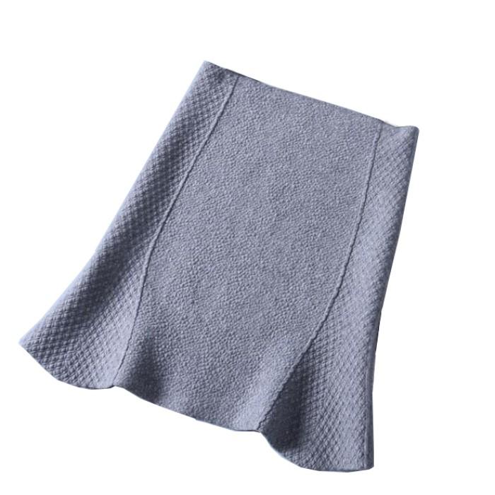 SKCS014 訂做針織魚尾裙款式  針織   魚尾裙工廠