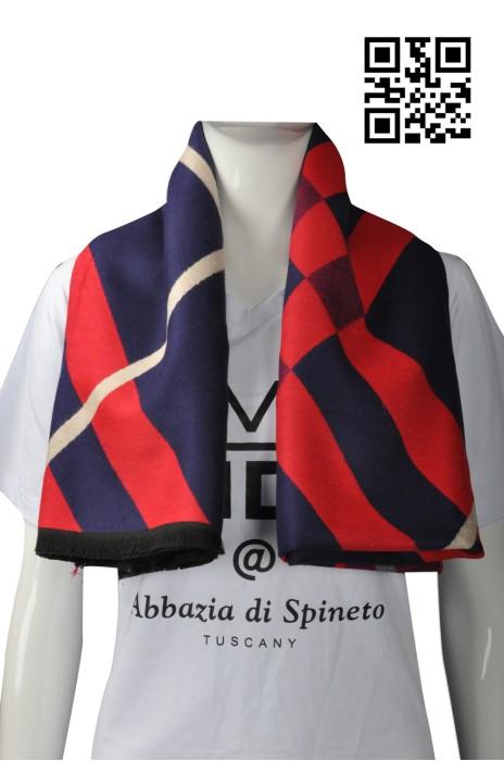 Scarf047 設計不規則圖案圍巾 供應時尚女士披巾  來樣訂造圍巾 圍巾製造商