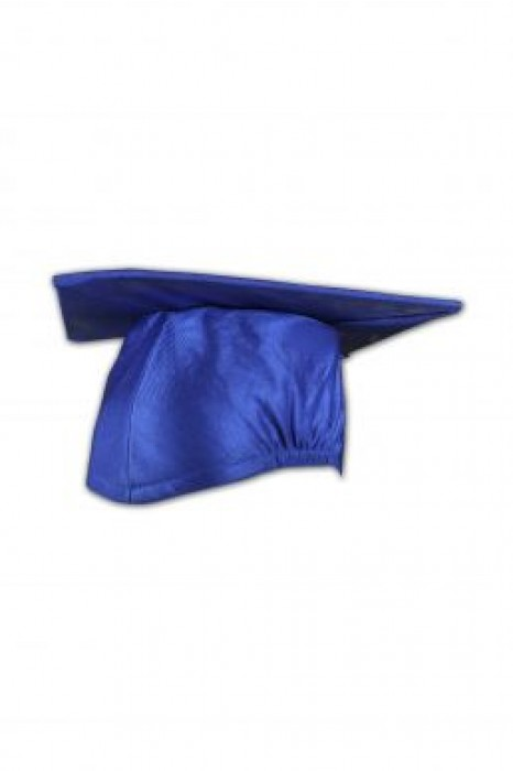 GGC01 custom design blue academic cap, graduation cap shop hong kong, mortar board supplier hk