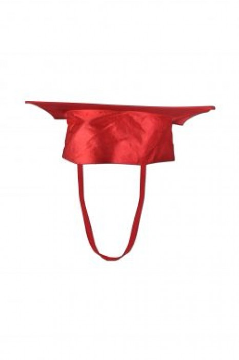 GGC02 custom order red mortar board, wholesale bachelor academic cap, bulk buy mortar board