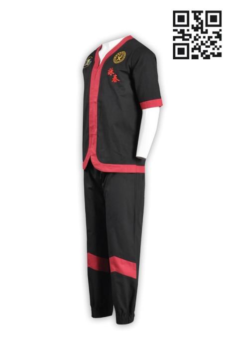 Martial010訂購團體功夫衫 製造吸濕排汗功夫衫 整套經典功夫衫 功夫衫製造商